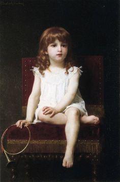Rudyard Kipling's Daughter-Elizabeth Jane Gardner Bouguereau (1837 – 1922, American)