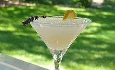 Lavender Lemon Martini • With Lemon Vodka, Lemon Juice, Simple Syrup, and Lavender ...yummy summer cocktail!