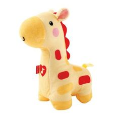 Your little one will sleep soundly with the Soothe & Glow Giraffe Soother from Fisher-Price. Offering 15 minutes of soothing lullaby music, this plush giraffe features a soft, glowing light to make bedtime a experience. Dru Hill, Walmart, Fisher Price Toys, Mattel, Thing 1, Animal Pillows, Jouer, Baby Toys, Dogs And Puppies