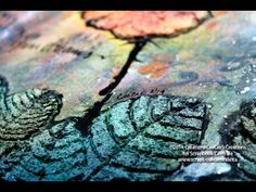 "MMF: journal d'artiste ""ART emerges from dreams"" art journaling Just awesome to watch"