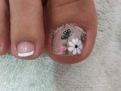 Print Tattoos, Pedicure, Nails, Diana, Nail Ideas, Enamel, Toenails Painted, Simple Toe Nails, Simple Elegant Nails
