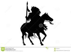 silhouette-indian-man-sitting-horse-10645910.jpg (1300×957)