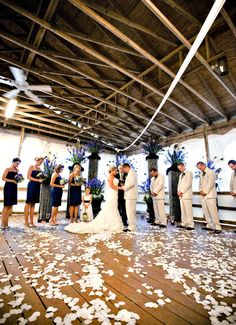 Wedding party at Boardwalk Beach Resort in Panama City Beach