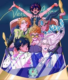 Been spending most my life waiting for vento aureo anime- but oh well i still can't believe it actually got confirmed Jojo's Bizarre Adventure Anime, Jojo Bizzare Adventure, Bizarre Art, Jojo Bizarre, Manga Anime, Anime Art, Johnny Joestar, Jojo's Adventure, Poses Photo