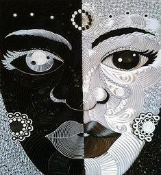 Paper quilling by Ayobola Kekere-Ekun - Duality