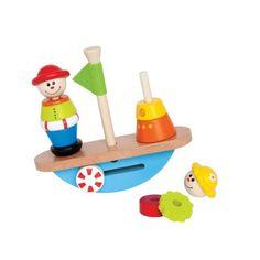 Houd de boot in balans