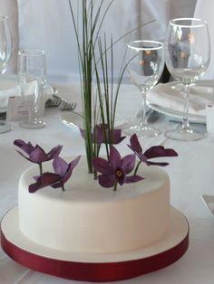 Tarta de orquídeas