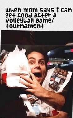 haha true/volleyball humor/ stiles/ Dylan o'brian/ teen wolf
