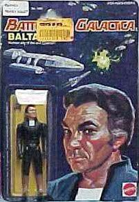 Battlestar Galactica Action Figures by Mattel