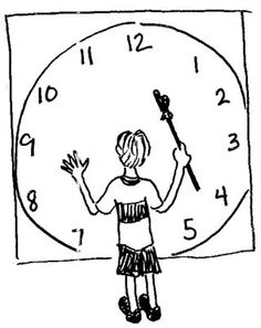 How to Teach a Right Brained Learner to Tell Time (visual-spatial; active kinesthetic learner)