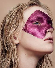 Publication: Russh Magazine June July 2015 Model: Nastya Sten Photographer: Ward Ivan Rafik