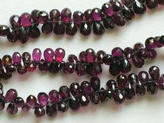 Grape Garnet Beads Natural Grape Garnet Faceted by gemsforjewels