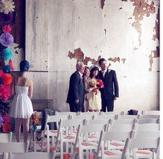 wedding in an old church