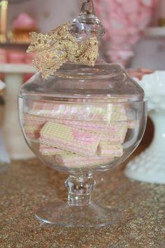 Pink and Gold Princess Party So Many Really Cute Ideas via Kara's Party Ideas KarasPartyIdeas.com #RoyalPrincess #Party #Ideas #Supplies (26)