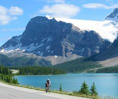 Icefields Parkway, Jasper to Banff. This summer on the bike!