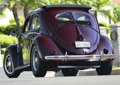51' Cal-Look Split Window Beetle. (❤ the color!)