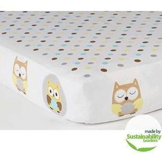 Walmart Child Of Mine Owl Crib Set Aiden Baby Number 5