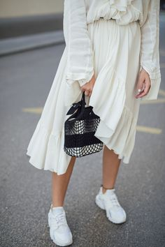 The Anna Pina net bag Walk The Line, Net Bag, Creative Design, Anna, Style, Fashion, Swag, Moda, Stylus