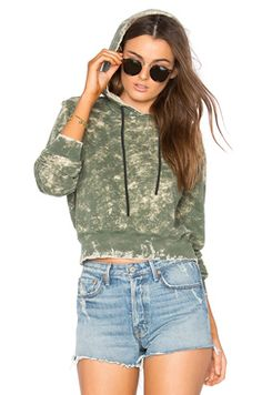 Revolve The Milan Cropped Pullover Hoodie COTTON CITIZEN Found on my new favorite app Dote Shopping #DoteApp #Shopping