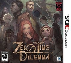zero time dilemma 3ds | Amazon ha mostrado las portadas finales de Zero Time Dilemma para ...