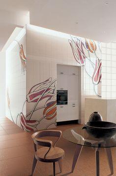 Ceramica BARDELLI | Collezione Tuli Art (design di Ronald Van Der Hilst)