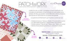 Ahora vamos a hablar acerca del Patchwork, otra técnica súper bonita.  Algún Dreamer la practica??