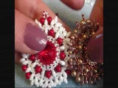 DIY Tutorial Ciondolo Nike - Superduo / Twin beads pendent - YouTube