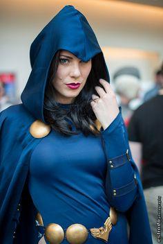 Raven, Teen Titans, photo by Erik Estrada.