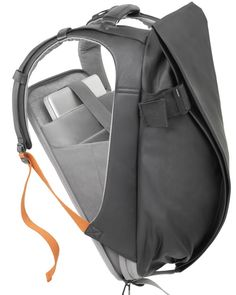 "Côte - - Rucksack for 15"" Laptops Coated Techno Canvas"
