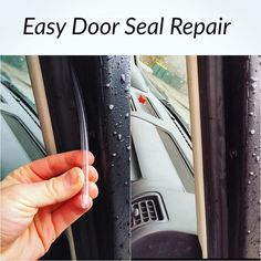 """For anyone else that gets a little wind/road noise in the cabin on the highway here is an easy $3 fix to beef up the door seals in about 5 minutes. You can find a 20 ft roll of 1/4"""" Tygon Tubing st your local Home Depot for $3.84. Cut the tubing in 5 foot lengths and run the tubing in the cavity on the top side of the door seals. These seals compress over time and lose there rebound resulting in bad seals. By adding new compressible material in between the mating surfaces you'll gain back…"""