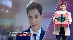 イ・ミンホ、慈善活動のための有名人のランキングのトップに。🙂20160905【Arrirang-Showbiz Korea】Lee Min Ho topped the ranking of Celebri... https://youtu.be/rCVs3lDDrYM