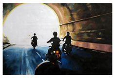 Thom Saliot, Bike Tunnel on OneKingsLane.com