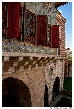 Hall of the Favorites (Topkapi Sarayı (Palace), Istanbul, Islamic Ottoman Architecture) Historical Architecture, Art And Architecture, Republic Of Turkey, Asia, Turkish Art, Turkish Delight, Ottoman Empire, Istanbul Turkey, Places To Visit