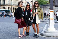 Paris Street Style Photos - Spring 2015 PFW Street Style Pictures - Elle