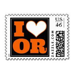 Oregon State Beavers Inspired Stamps - #OregonState #OSU #Beavers #BCS #Pac12 #Football