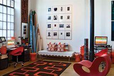 12 ideas para decorar con arte  Elegí fotos, cuadros, textiles e ilustraciones y animate a armar un rincón con arte en tu casa.  /Archivo LIVING