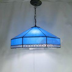 139.90$  Buy now - http://aligv5.worldwells.pw/go.php?t=32766639669 - Vintage Mediterranean Sea Tiffany Blue Glass Led E27*3 Pendant Light For Dining Room Restaurant Bar Living Room Dia 30cm 1870