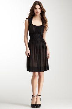 Very cute!  Sleeveless Overlay Dress on HauteLook