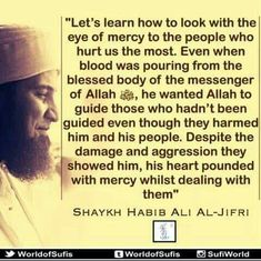 Let's learn how to look with the eyes of mercy...