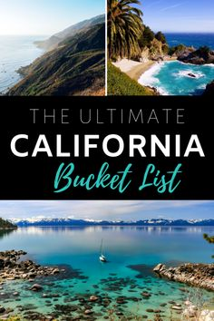 California Bucket List - 50 Things To Do In The Golden State. #California #Beach #TravelTips #Travel Visit California, California Coast, California Travel, Northern California, Sequoia National Park, National Parks, Burney Falls, My Road Trip, Mammoth Lakes