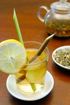 lemon grass tea .