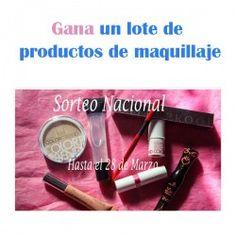 Gana un lote de productos de maquillaje ^_^ http://www.pintalabios.info/es/sorteos-de-moda/view/es/4656 #ESP #Sorteo #Maquillaje