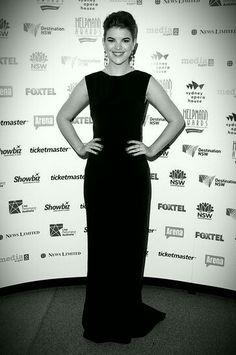 Emma at the 2013 Helpmann Awards