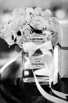 Change the number of the perfume according to your age, and walla! you got yourself a Coco Chanel inspired party. Mademoiselle Coco Chanel, Parfum Chanel, Everything Pink, Smell Good, Girly Things, Pretty In Pink, Pretty Roses, Pretty Black, Beautiful Roses