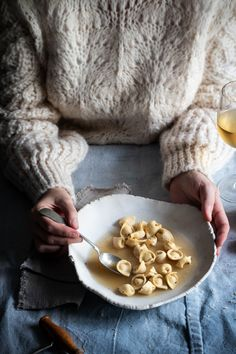 Smoked sausage tortellini in brodo and my predictions for food photography trends in 2019 - twigg studios Tortellini In Brodo, Sausage Tortellini, Dark Food Photography, Cooking Photography, Product Photography, Fun Cooking, Cooking Recipes, Cooking Gadgets, Cooking Videos