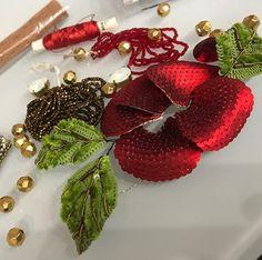 #процесс #handmadejewelry #вышивка #вышивкабисером #вышивкапайетками #канитель #украшенияручнойработы #embroidery #handmadejewelry #handembroidery #marianti_jewelry