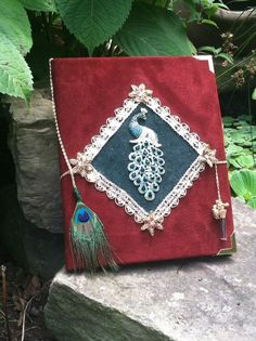 The Peaceful Peacock Art Journal / Sketchbook  by TheNightPorch, $42.95