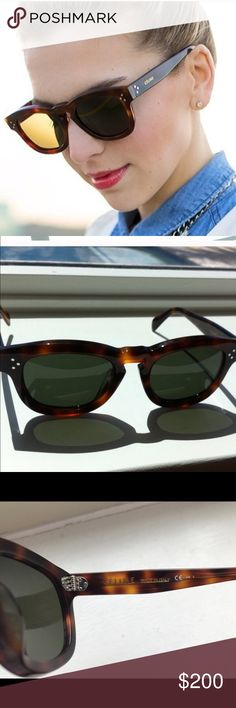 CELINE Tailor Tortoise In very good condition Celine Accessories Sunglasses