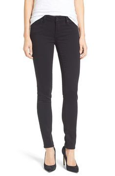 Free shipping and returns on Mavi Jeans 'Adriana' Stretch Super Skinny Jeans (Double Black Tribeca) at Nordstrom.com. Black-dyed skinny jeans, repeatedly washed to retain their color, offer a lean and leggy look with plenty of stretch comfort.