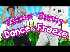 Easter dance and freeze song. Dance along with Jack and the Easter Bunny as they flip-flop their ears, shake their tails and bunny hop then freeze in this fu. Easter Songs For Kids, Easter Videos, Songs For Toddlers, Kids Songs, Easter Songs For Preschoolers, Fun Songs, Preschool Gymnastics, Preschool Music, Preschool Lessons